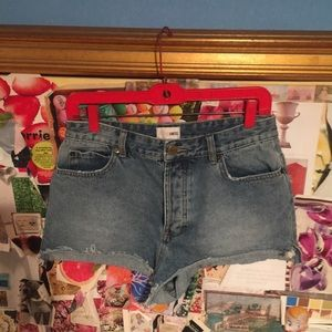 Amuse Society Women's Denim Shorts Sz 29